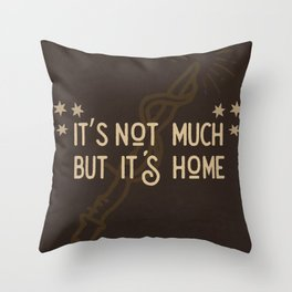 But Its Home Potter Gryf Throw Pillow