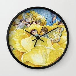 """Thumbelina's Wedding"" by Susan Jeffers  Wall Clock"