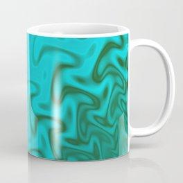 Ripples Fractal in Tropical Seas Coffee Mug