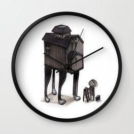 Barn Animal Wall Clock