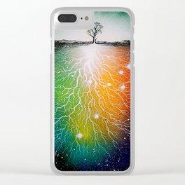 """Yggdrasil"" Clear iPhone Case"