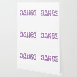 Dance in Light Purple with Dancer Cutouts Wallpaper