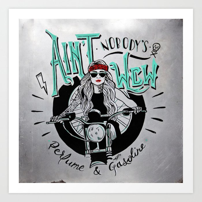 Aint Nobodys Wcw Art Print By Desiraesamantha Society6