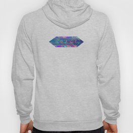 "2 Corinthians 12:9 ""Grace"" (purple triangles) Hoody"