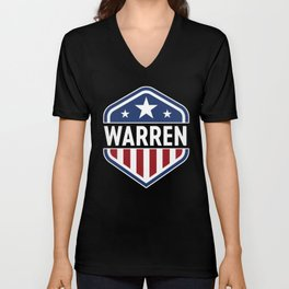 Patriotic Warren Unisex V-Neck