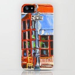 Little Owl Restaurant iPhone Case