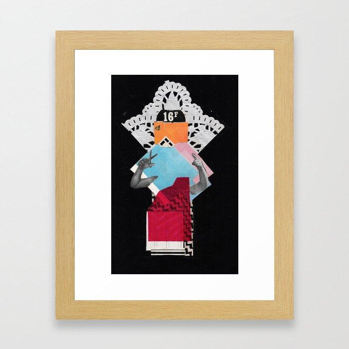 Queen 2 Framed Art Print