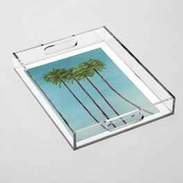 Vacation Acrylic Tray