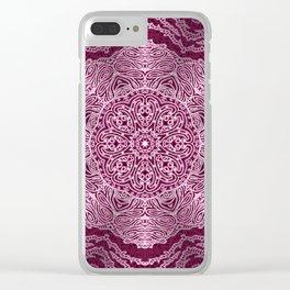 Mehndi Ethnic Style G456 Clear iPhone Case