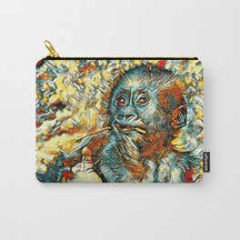 AnimalArt_Gorilla_20180202_by_JAMColorsSpecial Carry-All Pouch