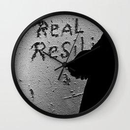 Real Resili (Food) Wall Clock