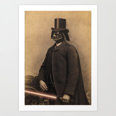 Lord Vadersworth Art Print