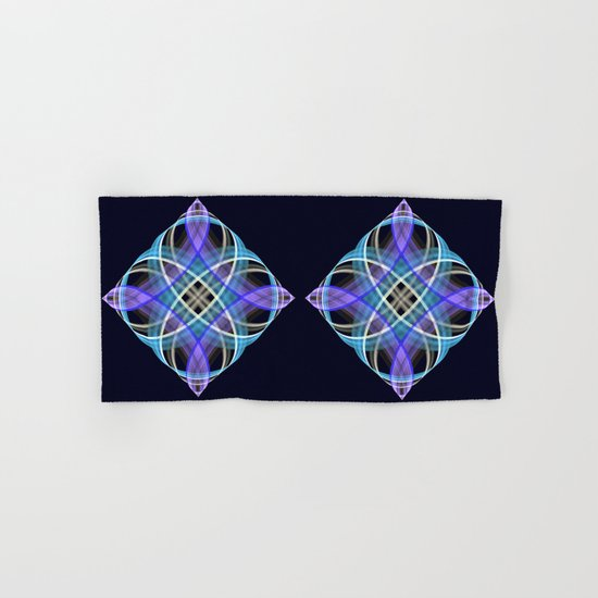 Four points geometric pattern design Hand & Bath Towel