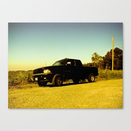 Orange Ram Canvas Print