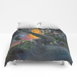 Upa Upa (The Fire Dance) by Paul Gauguin Comforters