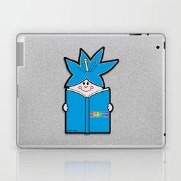 Reading Rainbow in Harmony - Blue Laptop & iPad Skin