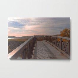 Bridge to Summer Metal Print