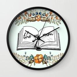 The YA Room (rustic) Wall Clock