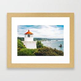 Eureka Lighthouse Framed Art Print