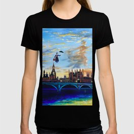 Mary Poppins returns to London T-shirt