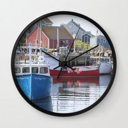 Peggy's Cove Halifax, Nova Scotia Wall Clock