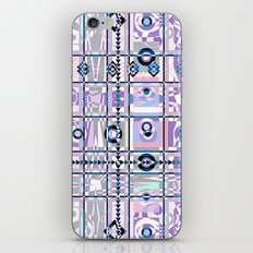 Abstract geometric pattern on white background. iPhone & iPod Skin