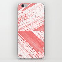 coral iPhone & iPod Skins featuring CORAL by LEEMO