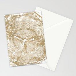 Sundance Pine, Tree ring print Stationery Cards