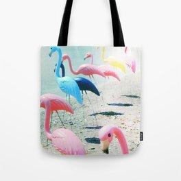 Flamingo Party Tote Bag