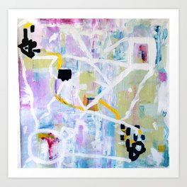 Colorful Abstract Painting Art Print