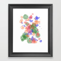 The Bubbles Framed Art Print