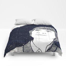 Man and Moon Comforters