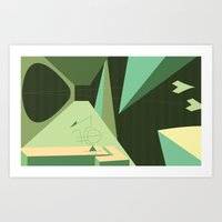 Maneuver Art Print