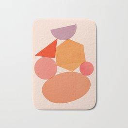 Abstraction_Geometric_Shape_ART_Minimalism_001 Bath Mat