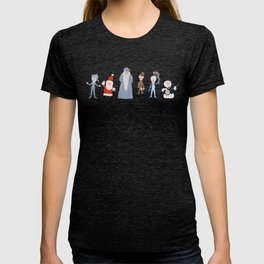 Claymation Lineup  T-shirt
