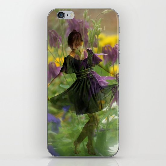 Flower Fairies iPhone & iPod Skin
