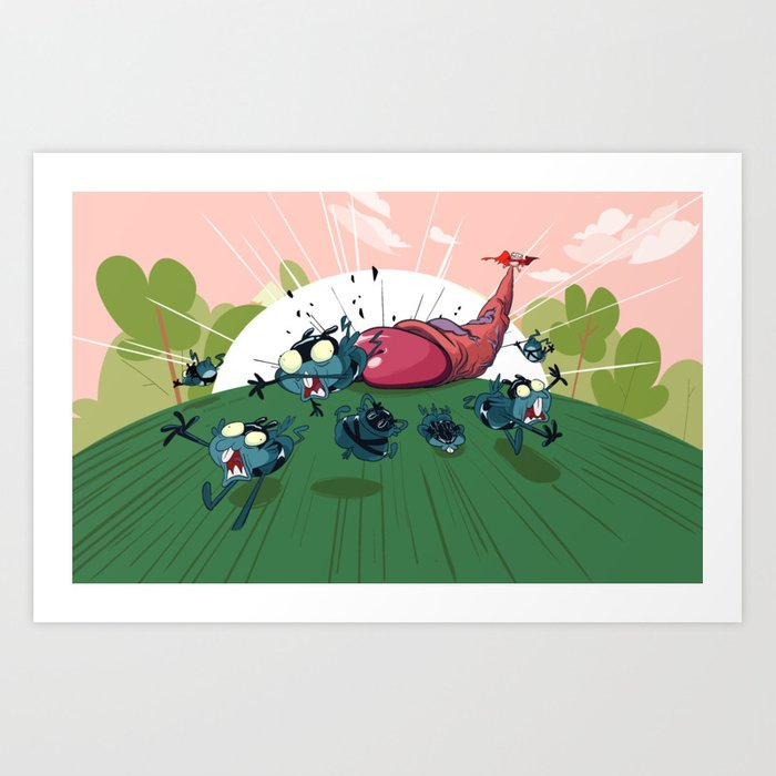 Peepoodong 2 Art Print