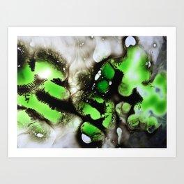 neon nightmare Art Print
