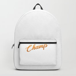 Board Game Addict Family Game Night Champ Gift Backpack