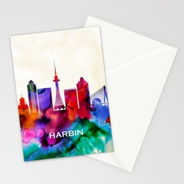 Harbin Skyline Stationery Cards
