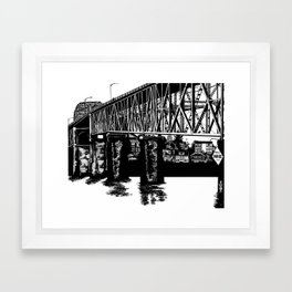 Manette Bridge Framed Art Print