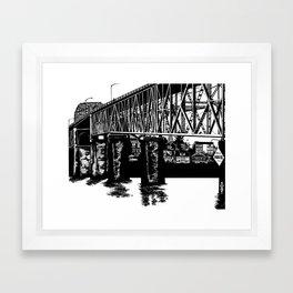 Manette Bridge Framed Art Print