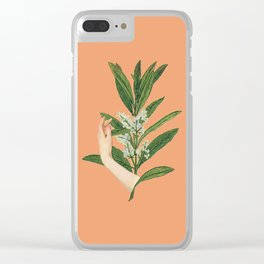 Self-love: Bloom Clear iPhone Case