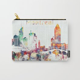 Montreal City Skyline Carry-All Pouch