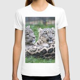 Aqua_Leopard_20180106_by_JAMColorsSpecial T-shirt