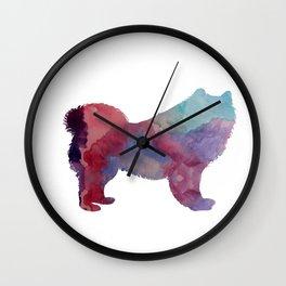 Samoyed Wall Clock