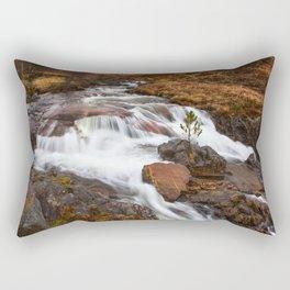 Scottish Falls. Rectangular Pillow