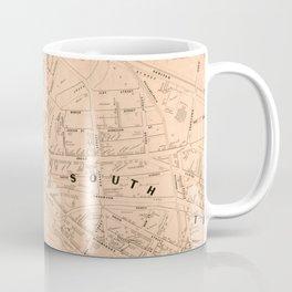 Vintage Map of Trenton NJ (1849) Coffee Mug