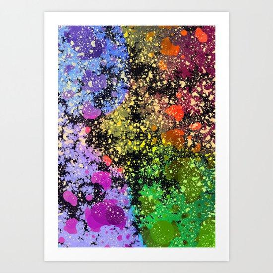 many dots III Art Print