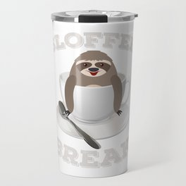 Sloffee Sloth Coffee Sloth In A Cup Christmas Gift Travel Mug